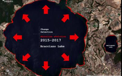 Stima del livello dell'acqua del Lago di Bracciano con Sentinel-2